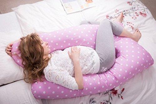 Queen Rose ZZZ's U Shape Pregnancy Support Pillow