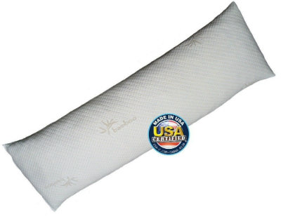Snuggle Pedic Shredded Bamboo Combination Memory Foam Pillow