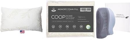 buy coop pillows on amazon