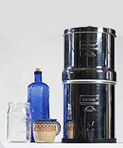 Berkey BK4X2-BB Big Berkey Stainless Steel Water Filtration System