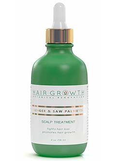 Hair Growth Ginger Saw Palmetto Hair Recovery
