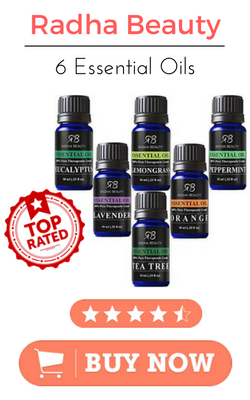 Radha Beauty Top 6 Essential Oils