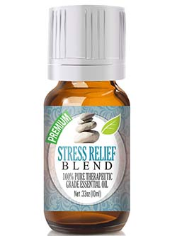 Stress Relief Blend 100% Pure, Best Therapeutic Grade Essential Oil