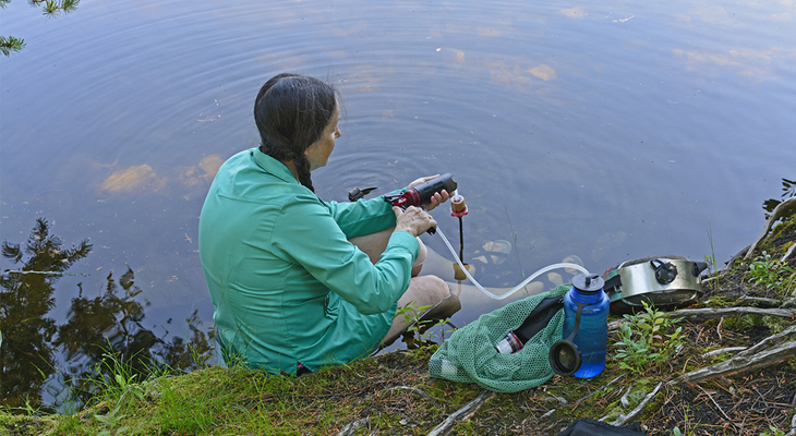 best camping water filter