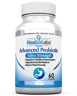 Advanced Probiotic Extra Strength Supplement