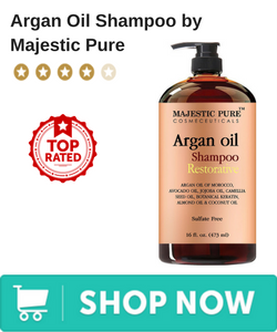 Argan Oil Shampoo -  by Majestic Pure