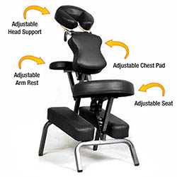 Ataraxia Deluxe Portable Folding Massage Chair