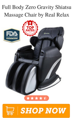 Full Body Zero Gravity Shiatsu Massage Chair By Real Relax