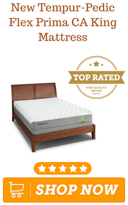 New Tempur-Pedic Flex Prima CA King Mattress