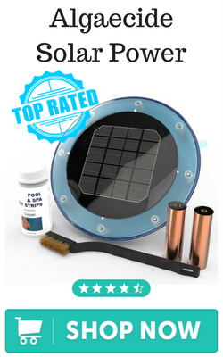 Algaecide Solar Power Ionizer