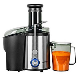BESTEK 800 Watts Fruit and Vegetable Juice Extractor