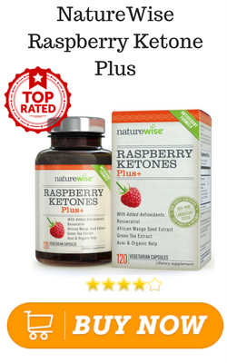 NatureWise Raspberry Ketone Plus