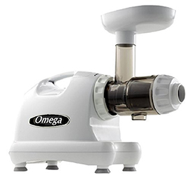 Omega J8006 Nutrition Center masticating Dual-stage Juicer Juice Extractor by Omega