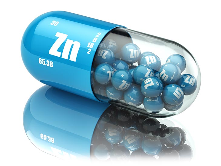 zinc for hair loss