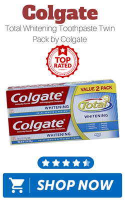 Colgate Total Whitening Toothpaste Twin Pack by Colgate