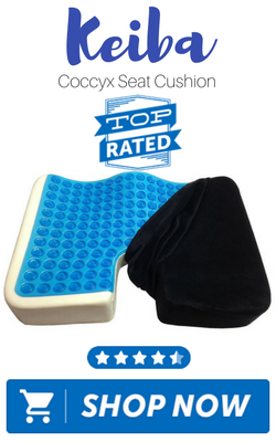 Keiba Coccyx Seat Cushion