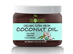 Organic Extra Virgin Coconut Oil - Sky Organics