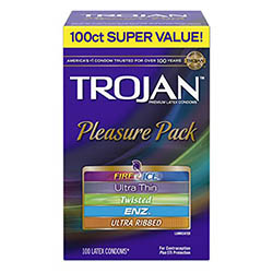 Trojan Super Value Pleasure Pack