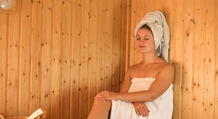 portable home sauna