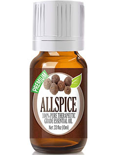 Allspice 100% Pure, Best Therapeutic Grade Essential Oil by Healing Solutions