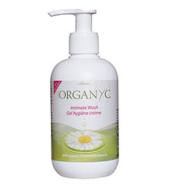 Organyc Certified Organic Natural Intimate Wash with Chamomile