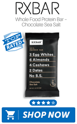 RXBAR Whole Food Protein Bar – Chocolate Sea Salt