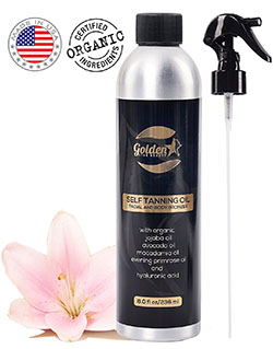 Golden Star Beauty Sunless Tanning Spray