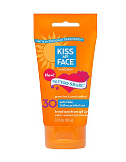 Kiss My Face Tattoo Shade Sunscreen
